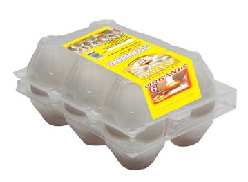 الصورة: الاحمديه بيض ابيض 6 بيضة مغلف