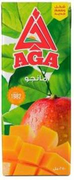 الصورة: اجا عصير مانجو 250 مل تتراباك
