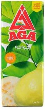 الصورة: اجا عصير جوافه 250 مل تتراباك