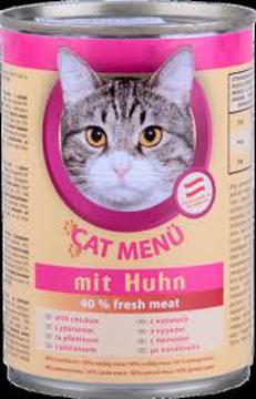 الصورة: دوج منيو اكل قطط 415 جم اطعمه مختلفه