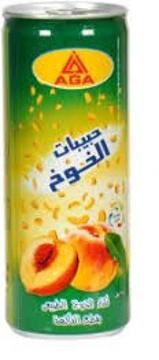 الصورة: اجا عصير خوخ قطع 240 مل كانز