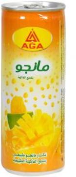 الصورة: اجا عصير مانجو قطع 240 مل كانز