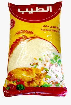الصورة: الطيب ارز مصرى 5 ك
