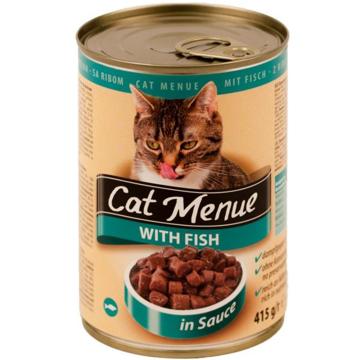 الصورة: كات منيو اكل قطط بالسمك 415جم
