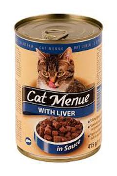 الصورة: كات منيو اكل قطط بالكبدة 415 جم