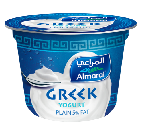Amart Market. Almarai Greek Yogurt 170gm 5% , المراعى