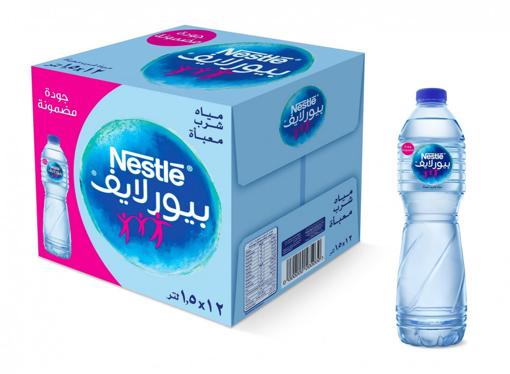 صورة نستلة مياة شرب طبيعية 1.5 لتر