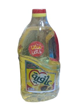الصورة: عافيه زيت عباد 2.2 لتر + سكر هديه